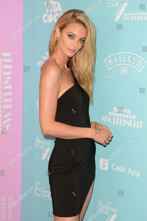 Kate Bock attends the Sports Illustrated Swimsuit celebration of the launch of the 2021 Issue at Hard Rock Live held at the Seminole Hard Rock Hotel and Casino, Hollywood, Florida, USA - 24 Jul 2021