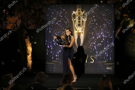 Editorial photo of 73rd Area Emmy Awards - Show, Los Angeles, United States - 24 Jul 2021