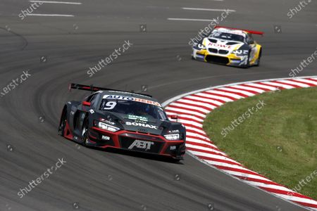Stock Picture of EUROSPEEDWAY LAUSITZ, GERMANY - JULY 25: Mike Rockenfeller, Abt Sportsline Audi R8 LMS GT3 at EuroSpeedway Lausitz on Sunday July 25, 2021 in Brandenburg, Germany. (Photo by Alexander Trienitz / LAT Images)