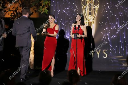 Editorial image of 73rd Area Emmy Awards - Show, Los Angeles, United States - 25 Jul 2021