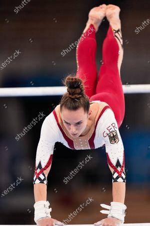 Editorial photo of Gymnastics, Women's Qualification, Tokyo Olympic Games, Japan - 25 Jul 2021