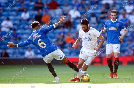 Editorial photo of Glasgow Rangers vs Real Madrid, United Kingdom - 25 Jul 2021