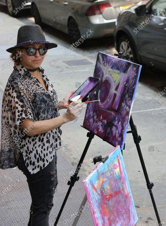 Editorial picture of SOHO Art Walk 2021, New York, USA - 24 Jul 2021