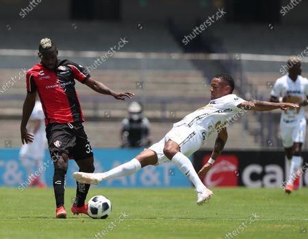 Editorial image of Pumas vs Atlas, Mexico City - 25 Jul 2021