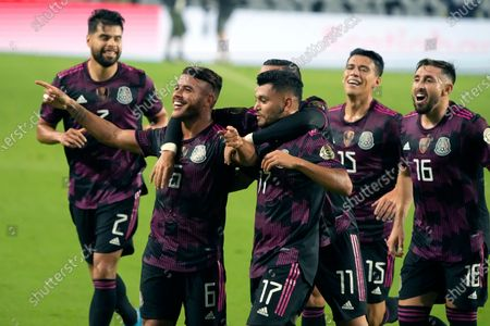 Editorial photo of Gold Cup Honduras Mexico Soccer, Glendale, United States - 24 Jul 2021