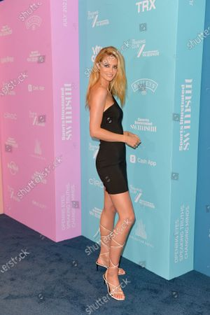Stock Picture of Kate Bock attends Sports Illustrated Swimsuit 2021 Issue Concert at Hard Rock Live held at the Seminole Hard Rock Hotel and Casino, Hollywood, Florida, USA - 24 Jul 2021