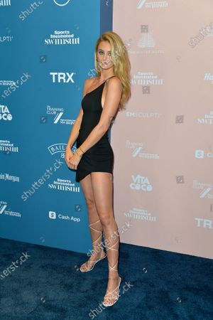 Editorial photo of Sports Illustrated Swimsuit 2021 Issue Concert - Arrivals, Seminole Hard Rock Hotel, Fort Lauderdale, Florida, USA - 24 Jul 2021