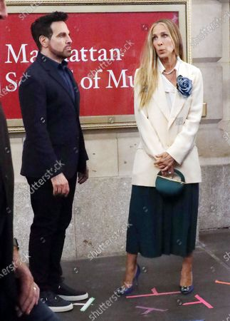 Mario Cantone and Sarah Jessica Parker