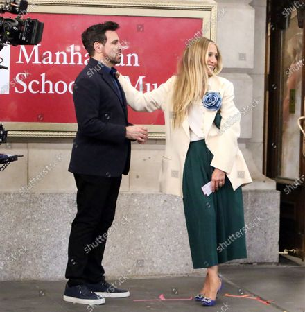 Editorial image of 'And Just Like That...' TV show on set filming, New York, USA - 23 Jul 2021