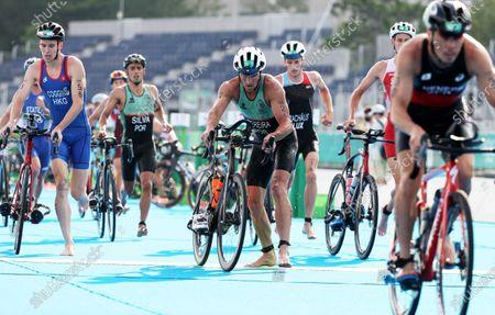 Editorial image of Olympic Games 2020 Triathlon, Tokyo, Japan - 26 Jul 2021
