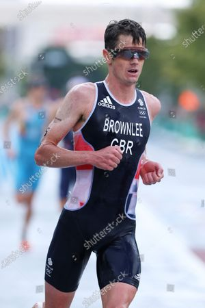 Jonathan Brownlee (GBR) - Triathlon :  Men's Final  during the Tokyo 2020 Olympic Games  at the Odaiba Marine Park in Tokyo, Japan.