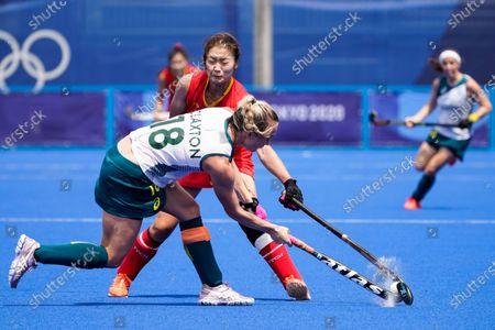 Editorial image of Olympics Hockey Women, Tokyo, Japan - 26 Jul 2021