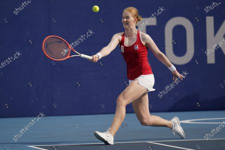 Editorial picture of Olympics Tennis, Tokyo, Japan - 26 Jul 2021