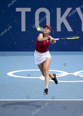 Editorial image of Tokyo 2020 Olympic Games - Tennis, Japan - 26 Jul 2021