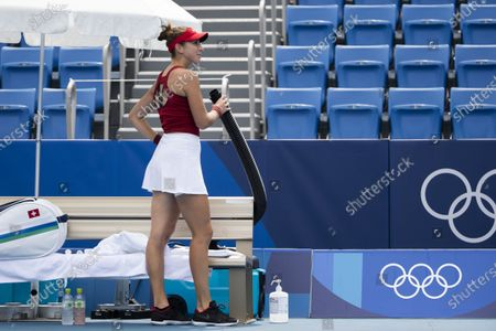 Editorial picture of Tokyo 2020 Olympic Games - Tennis, Japan - 26 Jul 2021