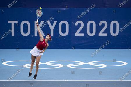 Editorial photo of Tokyo 2020 Olympic Games - Tennis, Japan - 26 Jul 2021