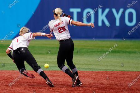 Editorial picture of Tokyo Olympics Softball, Yokohama, Japan - 26 Jul 2021