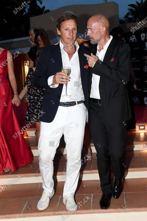 Gianmarco Tognazzi with Alejandro Gravier