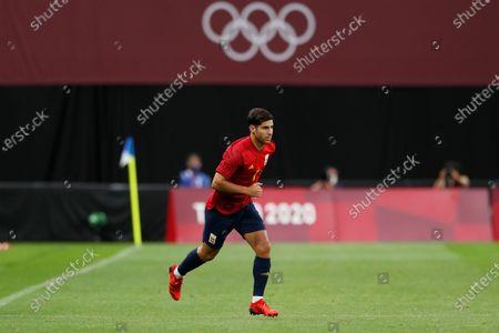 Editorial photo of Soccer : Tokyo 2020 Olympic Games Men's Football : Australia 0-1 Spain, Sapporo, Japan - 22 Jul 2021