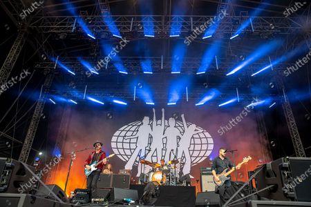 Editorial image of Tramlines Festival, Hillsborough Park, Sheffield, UK - 25 Jul 2021