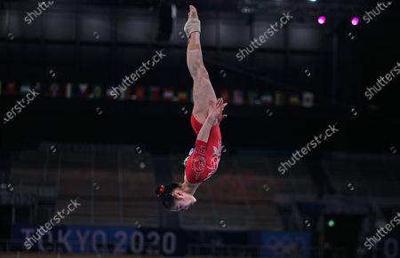 Editorial photo of Gymnastics - Artistic  - Olympics: Day 2, Tokyo, USA - 25 Jul 2021
