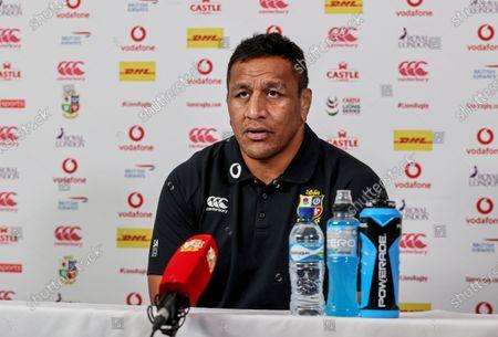 British & Irish Lions Press Conference, South Africa 26/7/2021. Mako Vunipola