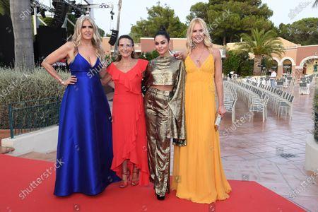 Tiziana Rocca, Lina Sastri, Vanessa Hudgens and Valeria Mazza