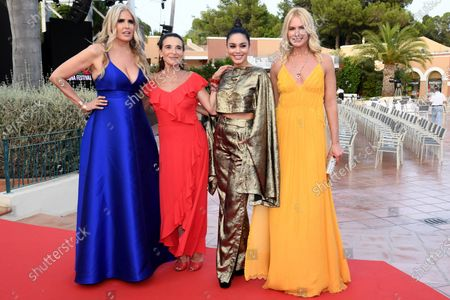 Stock Image of Tiziana Rocca, Lina Sastri, Vanessa Hudgens and Valeria Mazza