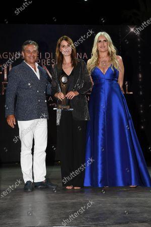 Paola Cortellesi and Tiziana Rocca