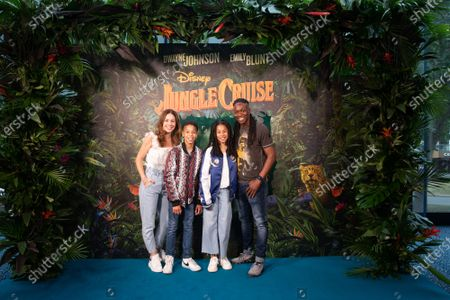 Editorial picture of 'Jungle Cruise' film screening, Odeon Leicester Square, London, UK - 25 Jul 2021