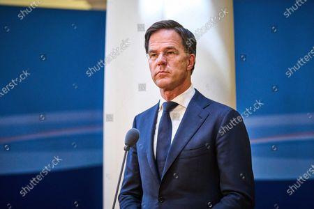 Editorial photo of Dutch cabinet update on corona crisis, The Hague, Netherlands - 26 Jul 2021