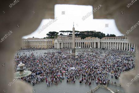 Editorial photo of Sunday Angelus prayer, The Vatican, Rome, Italy - 25 Jul 2021