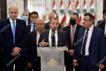 Editorial picture of Lebanese MPs choose Najib Mikati to form a new government, Baabda, Lebanon - 26 Jul 2021