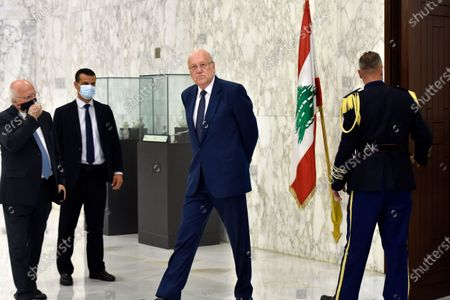 Editorial image of Lebanese MPs choose Najib Mikati to form a new government, Baabda, Lebanon - 26 Jul 2021