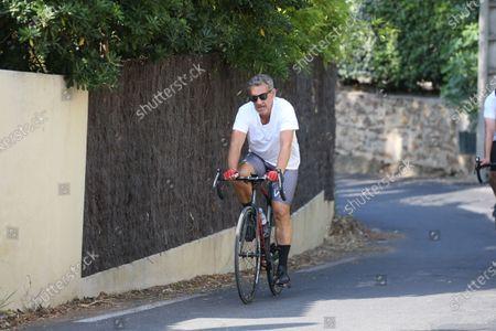 Stock Photo of Former French President Nicolas Sarkozy