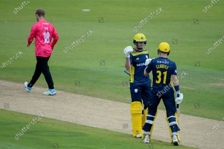 Editorial photo of Hampshire v Sussex Sharks, Royal London One Day Cup, Group A, The Ageas Bowl, Southampton, Hampshire, UK - 27 Jul 2021