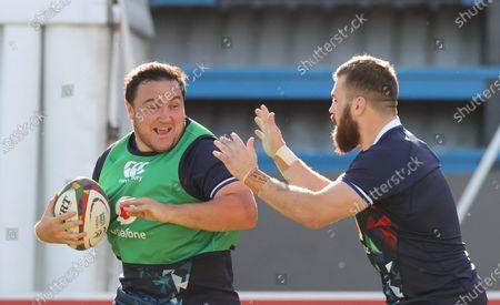 Stock Picture of British & Irish Lions Squad Training, South Africa 26/7/2021. Jamie George
