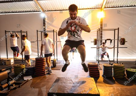Stock Picture of British & Irish Lions Squad Training, South Africa 26/7/2021. Iain Henderson