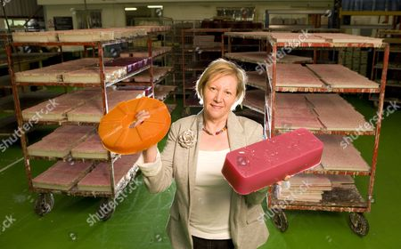 Mo Constantine with her palm-oil-free soap
