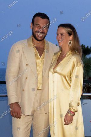 Maxime Giaccardi and Pauline Ducruet
