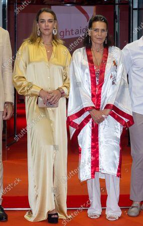 Pauline Ducruet and Princess Stephanie of Monaco