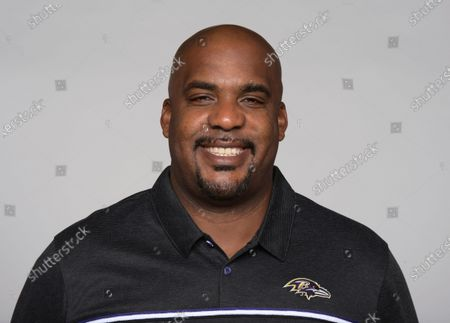 This is a 2021 photo of Jason Brooks of the Baltimore Ravens NFL football team. This image reflects the Baltimore Ravens active roster as of when this image was taken