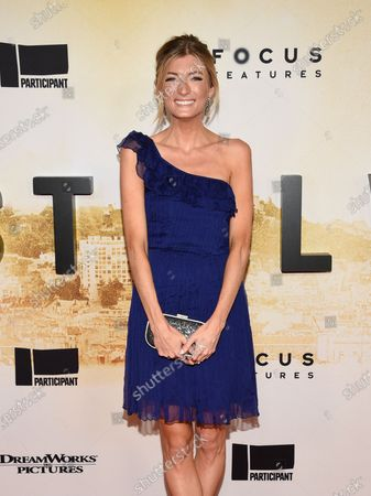"""Sophie Sumner attends the premiere of """"Stillwater"""" at Rose Theatre at Jazz at Lincoln Center, in New York"""