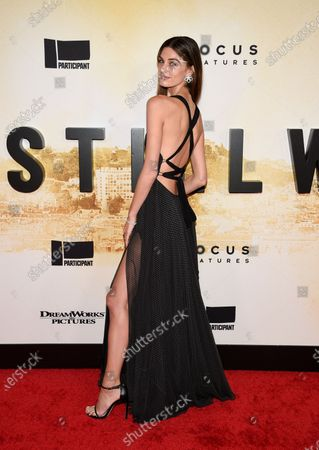 """Model Mariah Strongin attends the premiere of """"Stillwater"""" at Rose Theatre at Jazz at Lincoln Center, in New York"""