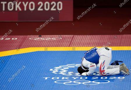 Editorial picture of Olympics Taekwondo, Tokyo, Japan - 27 Jul 2021