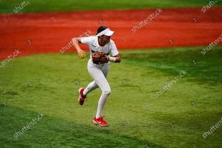 Editorial picture of Tokyo Olympics Softball, Yokohama, Japan - 27 Jul 2021