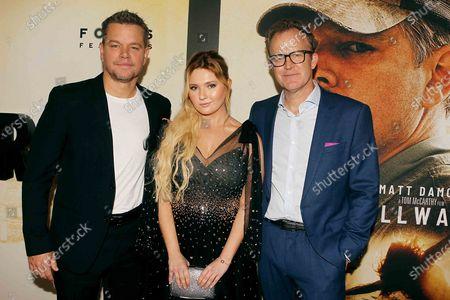 Matt Damon, Abigail Breslin and Tom McGrath