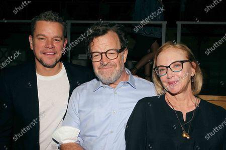 Matt Damon, Ken Lonergan and J. Smith-Cameron