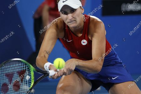 Editorial image of Olympic Games 2020 Tennis, Tokyo, Japan - 27 Jul 2021