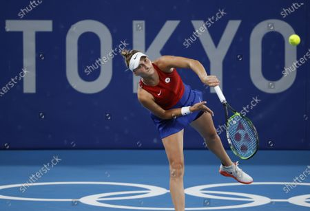 Editorial photo of Olympic Games 2020 Tennis, Tokyo, Japan - 27 Jul 2021